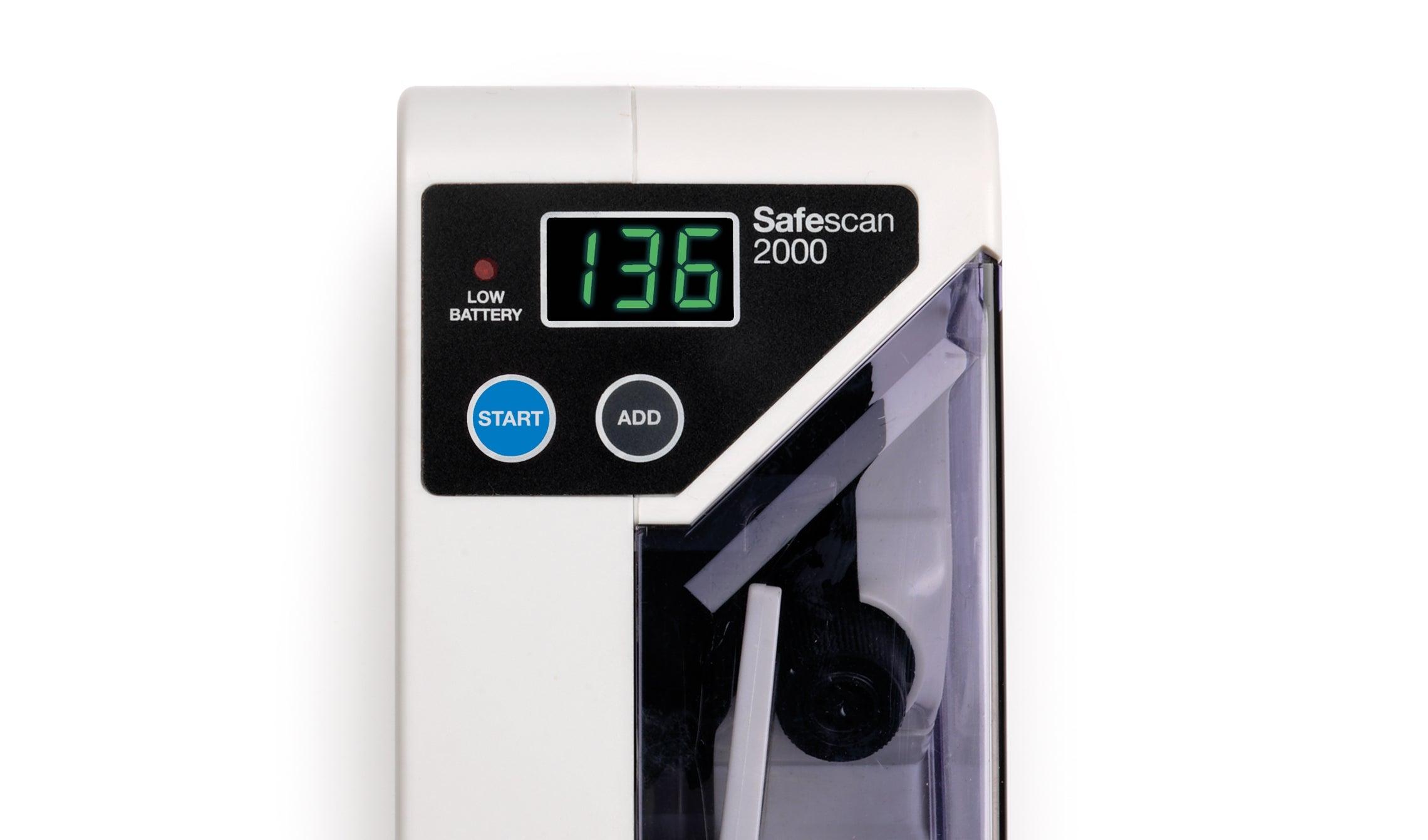 safescan-2000-display